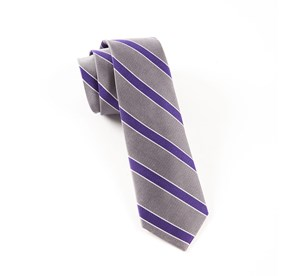Silver Honor Stripe ties
