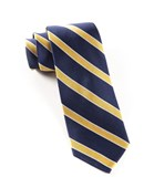 Ties - Honor Stripe - Navy