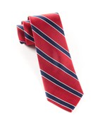 Ties - Honor Stripe - Classic Red
