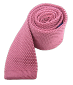 Ties - Knitted - Pink