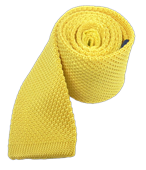 Ties - Knitted - Butter