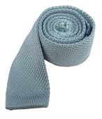 Ties - Knitted - Baby Blue