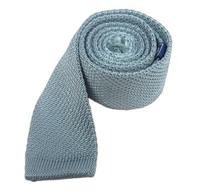 Baby Blue Knitted ties