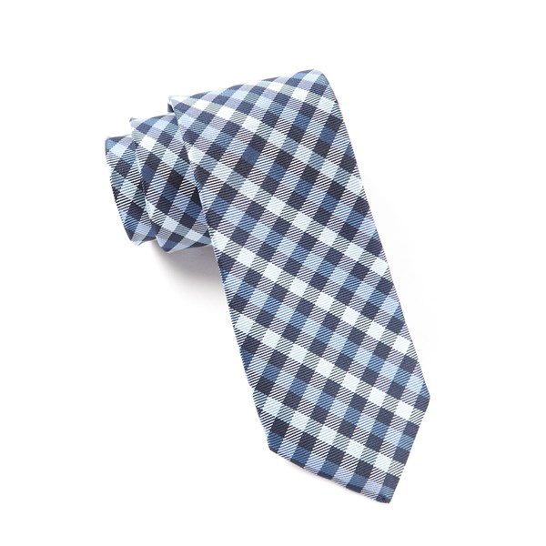 Blues Prepster Plaid Tie