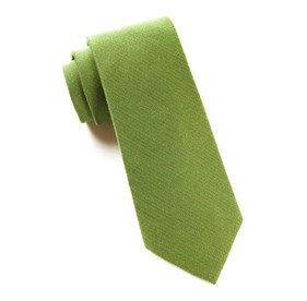 Moss Solid Wool ties