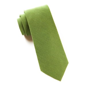 solid wool moss ties
