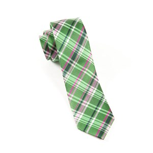 plaiditude kelly green ties