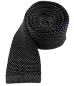 Ties - Knitted Kneats - Black