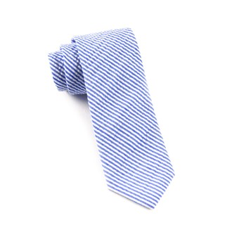 seersucker blue ties