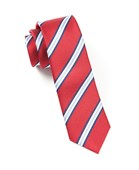 Ties - PULSAR STRIPE - RED