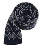 Ties - Knitted Knative - Navy