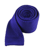 Ties - Knitted - Violet