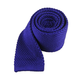 Knitted Violet Ties