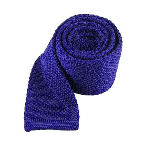 Violet Knitted Tie