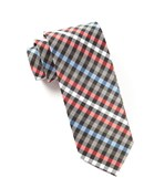Ties - Ivy Checked - Black