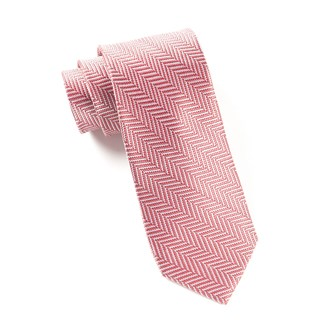 native herringbone dusty rose ties