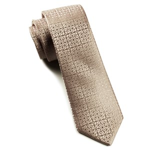 opulent champagne ties