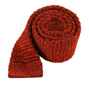 scramble knit red ties