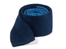 Ties - Color Blocked Knit - Serene