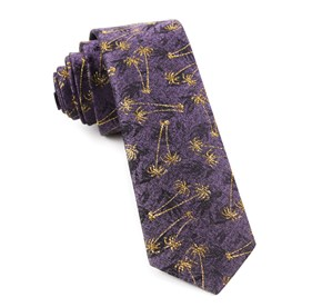 Purple Palm Springs By Dwyane Wade ties