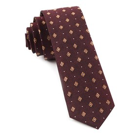 Deck The Halls By Dwyane Wade Deep Burgundy Ties