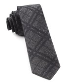 Ties - Snowfall Plaid - Grey