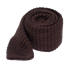 Chocolate Textured Solid Knit Tie - Chocolate Textured Solid Knit Tie primary image
