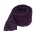 Eggplant Textured Solid Knit Tie