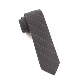 Silver Adams Stripe ties