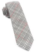 Ties - Agent Plaid - Black