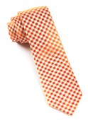 Ties - Checked Out - Tangerine