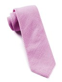 Ties - New Seersucker Gingham - Pink