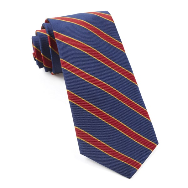 New Blue Honor Stripe Tie