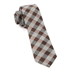 Similar Item - Brown Splattered Gingham Tie
