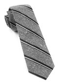 Ties - Spirit Stripe - Black
