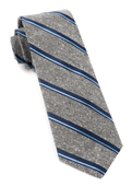 Ties - Spirit Stripe - Navy