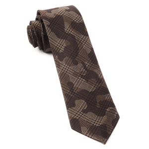 caliber camo brown ties