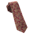 Burgundy Intellect Floral Tie - Burgundy Intellect Floral Tie primary image