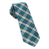 Teal Wit Plaid Tie - Teal Wit Plaid Tie primary image