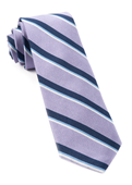 Ties - 918 Stripe - Lilac