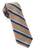 Ties - 918 Stripe - Tan