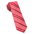 Red Wool Path Stripe Tie - Red Wool Path Stripe Tie primary image