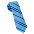 Blue Wool Path Stripe Tie - Blue Wool Path Stripe Tie primary image