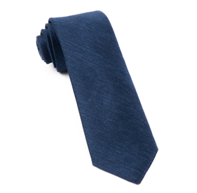 Navy Festival Textured Solid ties