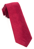 Ties - Festival Textured Solid - Red