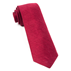 Red Festival Textured Solid Tie