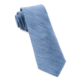 Slate Blue Festival Textured Solid ties