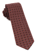 Ties - Medallion Medley - Burnt Orange
