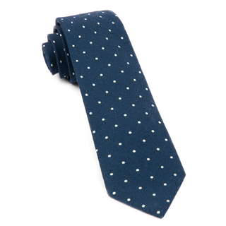 Primary Dot Navy Tie