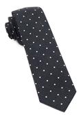 Ties - Primary Dot - Black